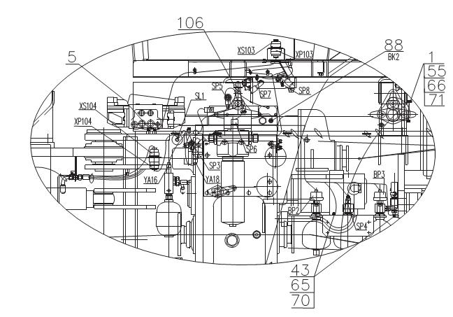 Привод заднего вала отбора мощности (ВОМ) трактора Т-40 и.