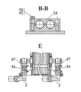 """Запчасти для Амкодор 2661-01 в узле  """"Гидросистема гидромеханической передачи """" в разрезе схемы 22-1783."""