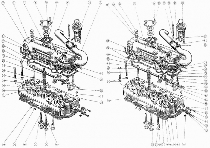 Запчасти для двигателя Д-245