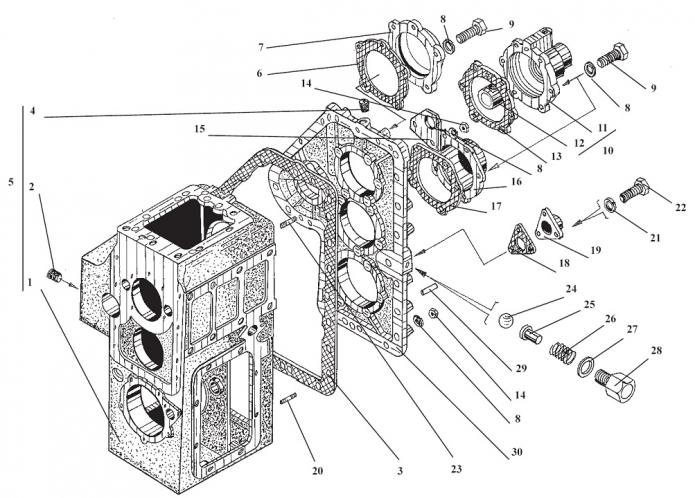Передача гидромеханическая 342В(2) .