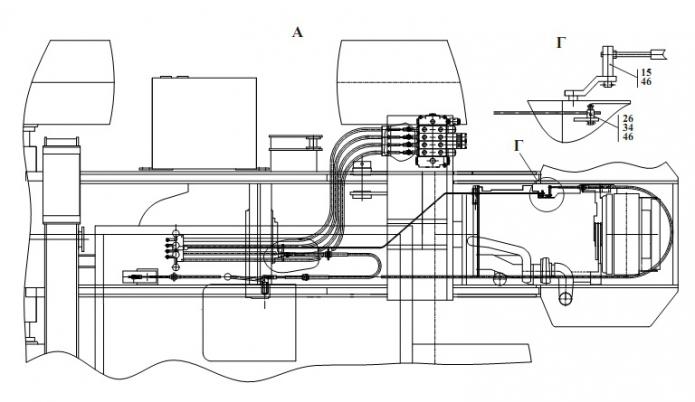 Система отопления и вентиляции кабины трактора МТЗ-100 и.